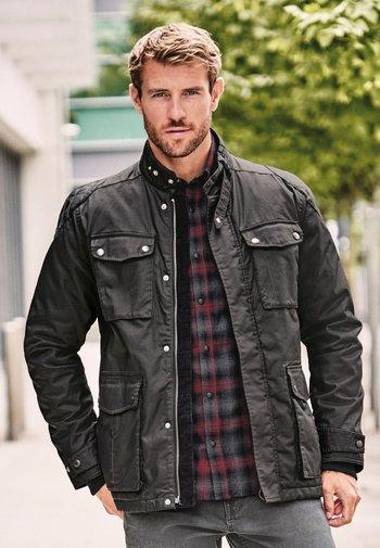 FOUR POCKET  - Light jacket - black