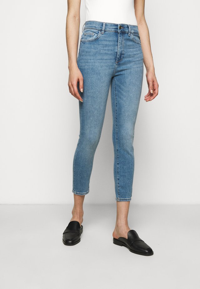 FARROW HIGH RISE INSTACULPT CROP - Jeans Skinny Fit - marine