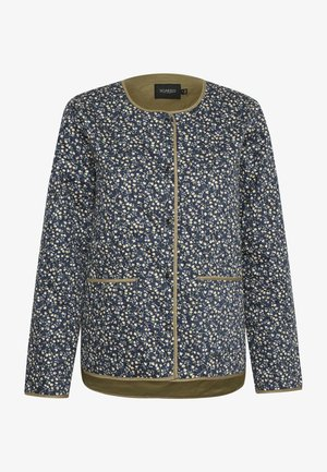 SLBANKS - Light jacket - viol print parisian night