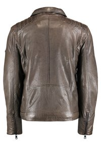 DNR Jackets - Leather jacket - brown - 1