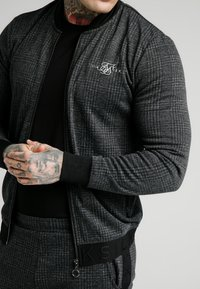 SIKSILK - TONAL CHECK BOMBER - Bomber bunda - grey - 4