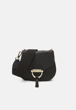 TEMI SMALL - Across body bag - black/gold