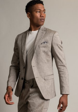 Suit jacket - taupe