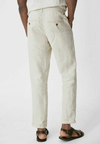 C&A - Spodnie materiałowe - creme - 2