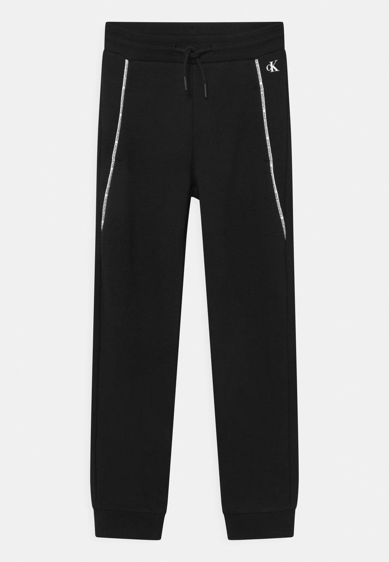 Calvin Klein Jeans - LOGO PIPING - Verryttelyhousut - black