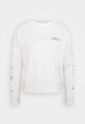FLY OVER THE WORLD  - Long sleeved top - snow white