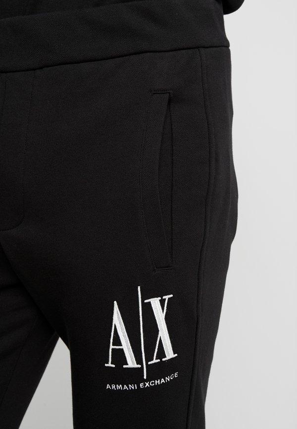 Armani Exchange JOGGER - Spodnie treningowe - black/czarny Odzież Męska EUSH