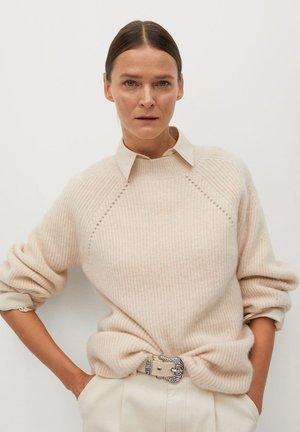 MIRROR - Sweter - světle/pastelově šedá