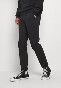 Calvin Klein Jeans - SLIM  - Chinos - black - 0
