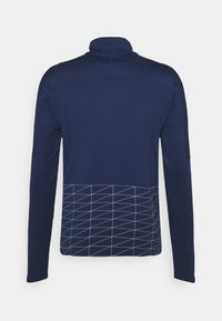 Nike Performance - RUN DIVISION FLASH - Sports shirt - midnight navy/reflective silver - 1
