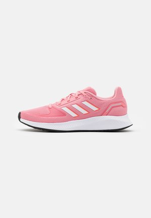 RUNFALCON 2.0 - Scarpe running neutre - super pop/footwear white/solar red