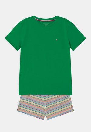 STRIPES - Pyjama set - primary green