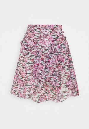 LOFO - Mini skirt - multico/pink
