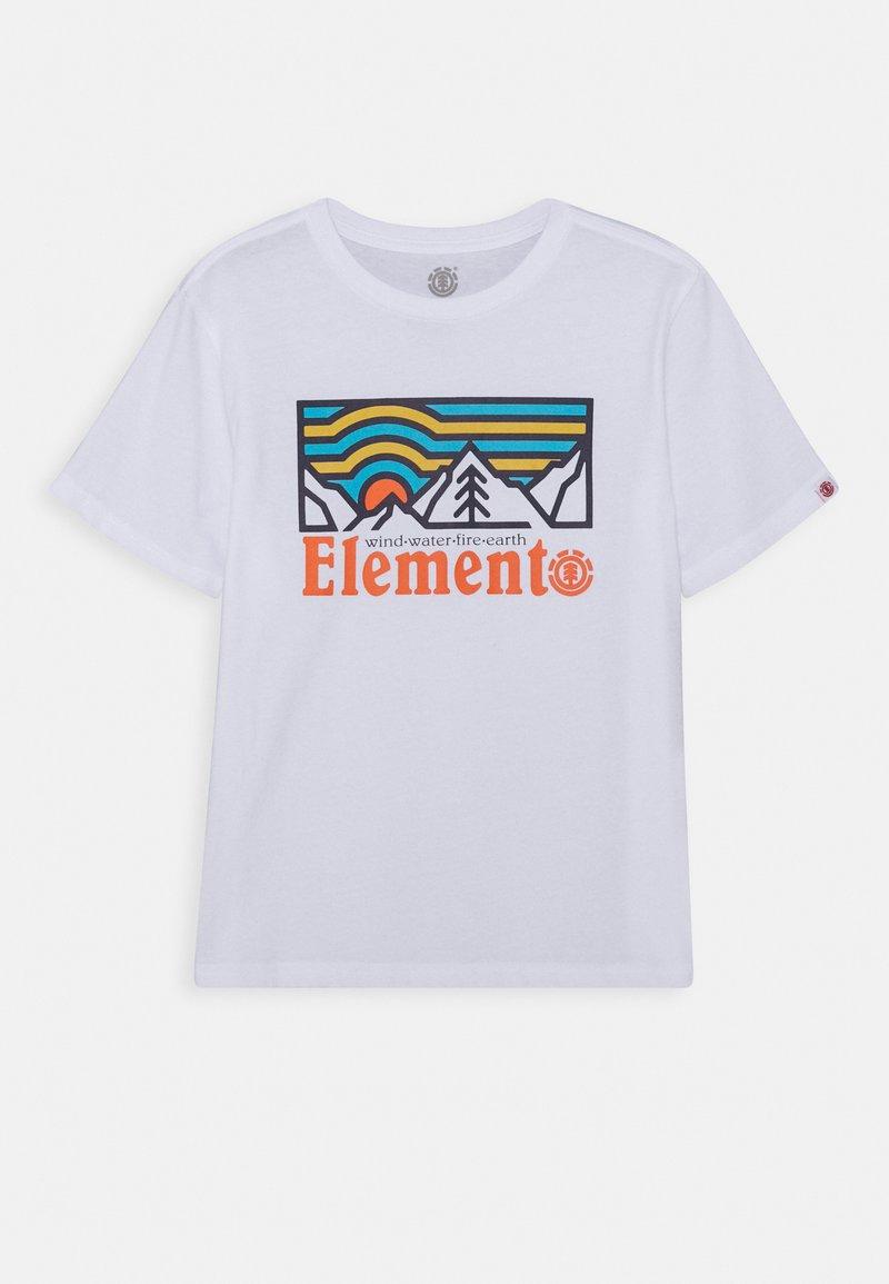 Element - WANDER BOY - Print T-shirt - optic white