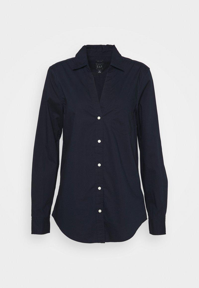 Gap Tall - PERFECT  - Blouse - navy uniform