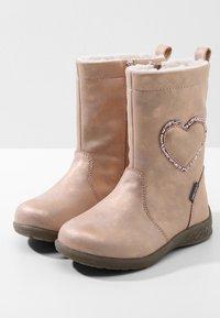 Friboo - Høje støvler/ Støvler - rose gold - 3