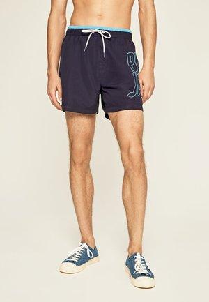 FIN - Shorts da mare - azul marino