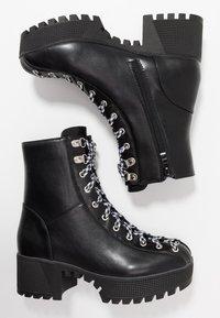 co wren - Platform ankle boots - black - 3