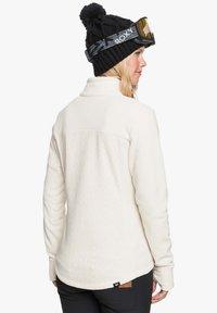 Roxy - MIT REISSVERSCHLUSS  - Fleece jacket - angora - 2