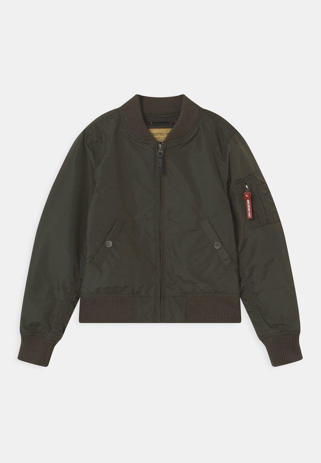 Bomber Jacket - replica grey