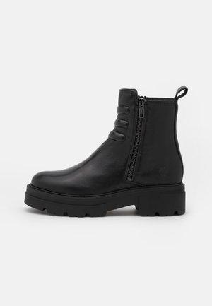 BILLIE - Platform ankle boots - black
