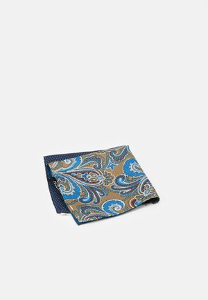 4 WAY POCKET SQUARE - Pochet - navy