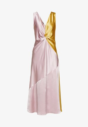 MINESTRA ABITO  - Cocktail dress / Party dress - rosa/giallo