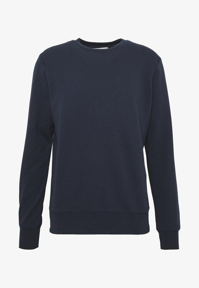 UNISEX THE ORGANIC SWEATSHIRT - Felpa - navy blazer
