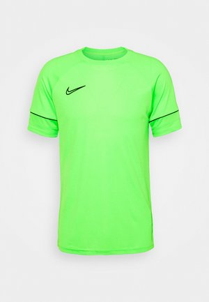ACADEMY 21 - T-shirt z nadrukiem - green strike/black