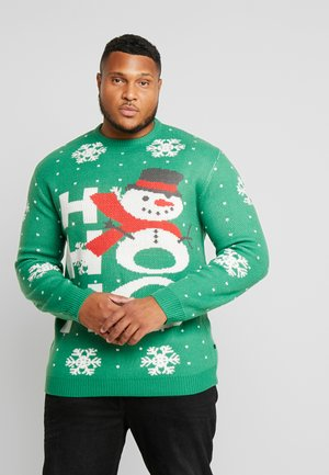 CHRISTMAS O-NECK - Jumper - green