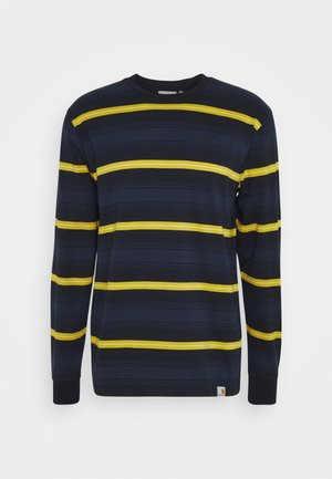 BUREN - Long sleeved top - dark navy
