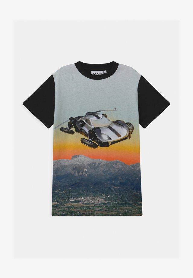 ROAD - Print T-shirt - black