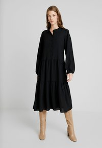 Samsøe Samsøe - RHONDA DRESS 2-IN-1 - Vestito estivo - black - 0