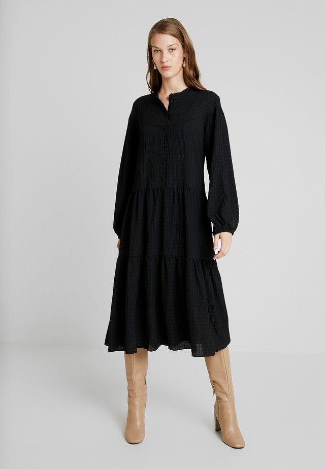 RHONDA DRESS 2-IN-1 - Vapaa-ajan mekko - black