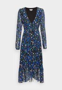 NATASJA FRILL DRESS - Day dress - black