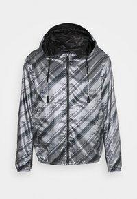 Emporio Armani - BLOUSON JACKET - Waterproof jacket - grey - 7