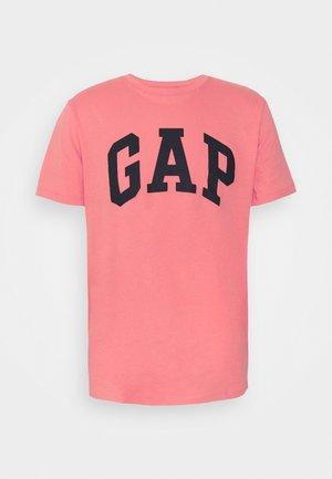 BASIC LOGO - Print T-shirt - florida coral