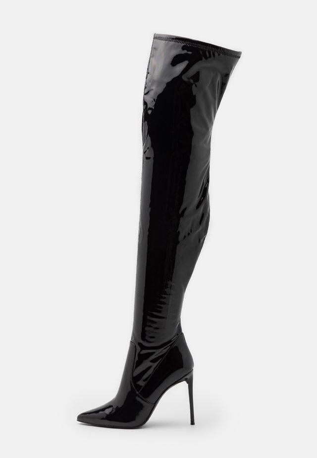 VAVA - Korolliset saappaat - black