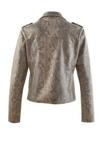 Alba Moda - Faux leather jacket - grau - 3