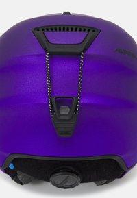 Alpina - LAVALAN  - Helmet - dark violet matt - 6