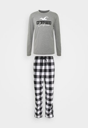 CLASSIC SET - Pyjama set - black/white