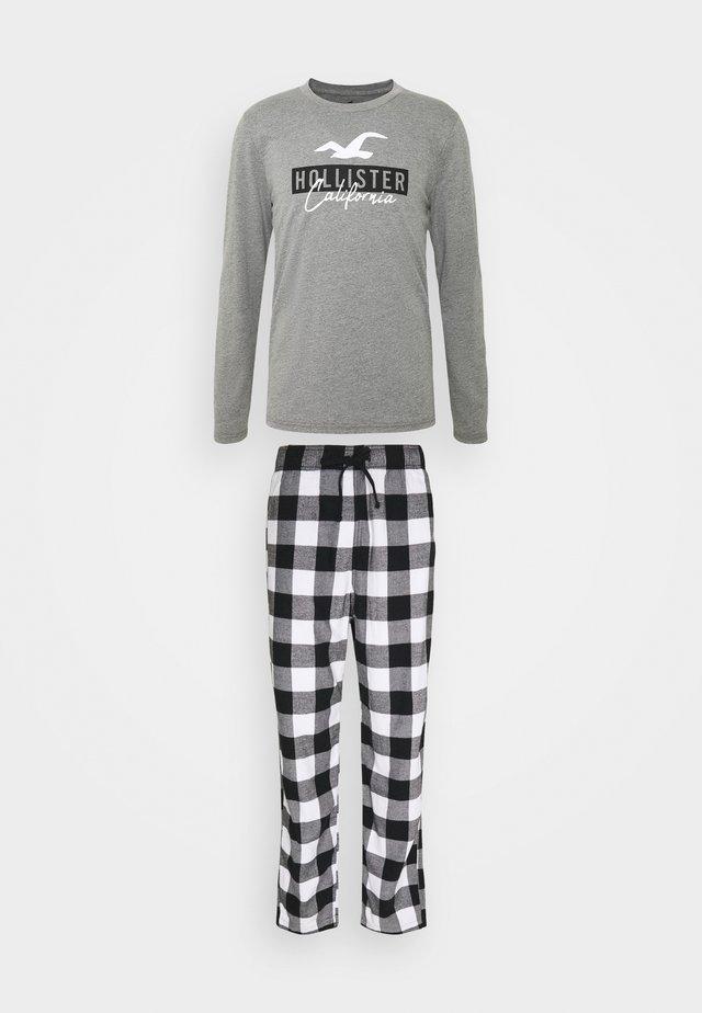 CLASSIC SET - Pijama - black/white