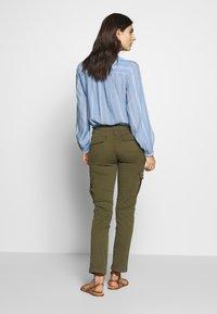 Napapijri - MARIN - Pantalon classique - green way - 2