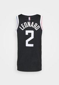 Nike Performance - NBA LOS ANGELES CLIPPERS KAWHI LEONARD CITY EDITION SWINGMAN - Article de supporter - black/white - 6