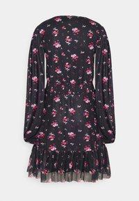 Even&Odd Tall - Denní šaty - black/multi-coloured - 6