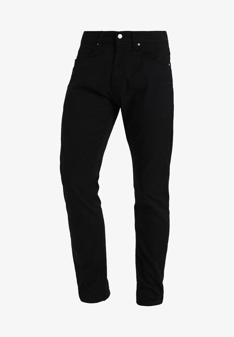 Carhartt WIP VICIOUS PANT LAMAR - Stoffhose - black rinsed/schwarz r1lJnt
