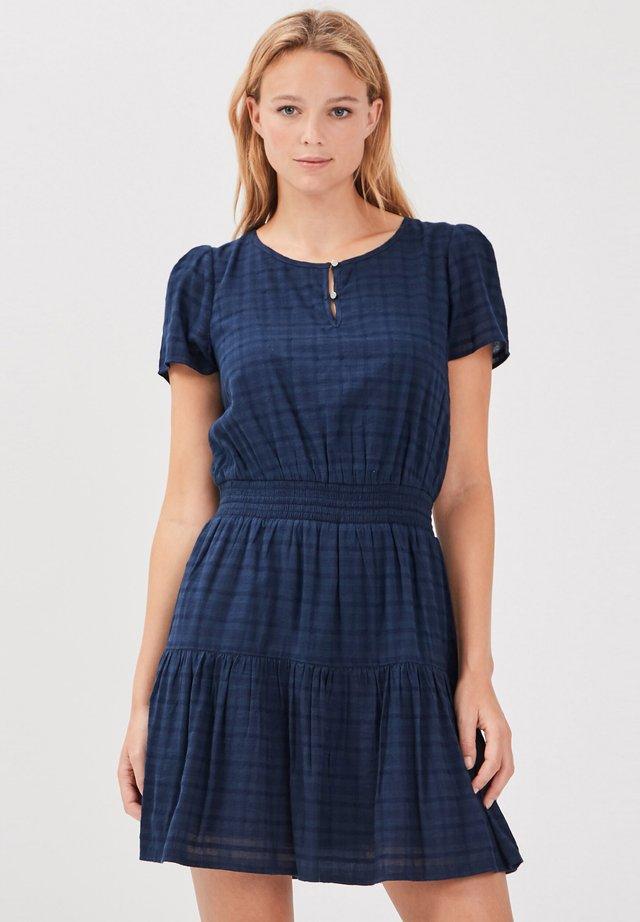 Korte jurk - bleu foncé