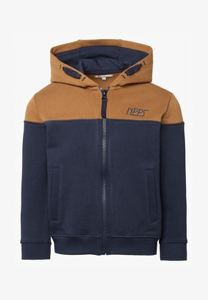BOOSTER - Sweater met rits - black iris