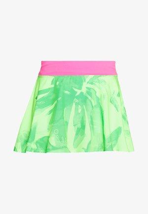 MORA TECH SKORT - Sportovní sukně - neon green/pink
