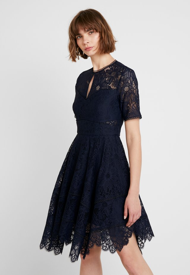 HARLEY HANKY HEM DRESS - Vestito elegante - navy